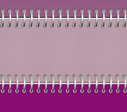 Free Vector Purple Notebook