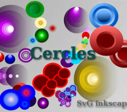 Vector Colorful Circles Graphics