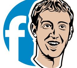 Mark Zuckerberg Vector Image