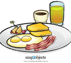 Free Breakfast Vector