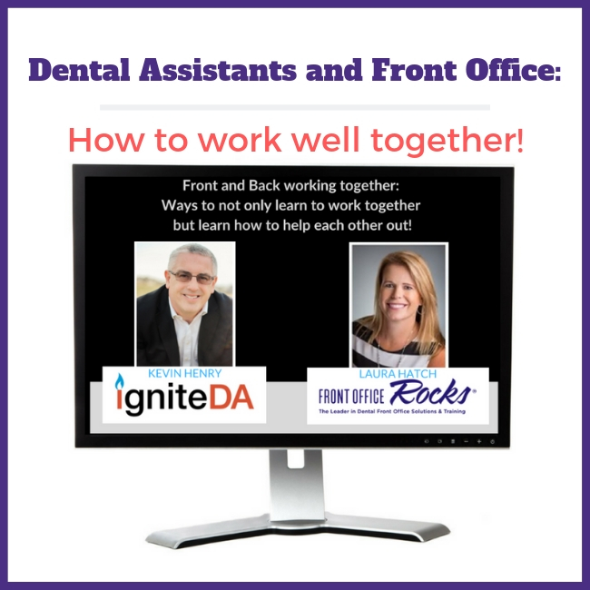 Dental assistants and Front Office Employee Management Webinar Cover Image