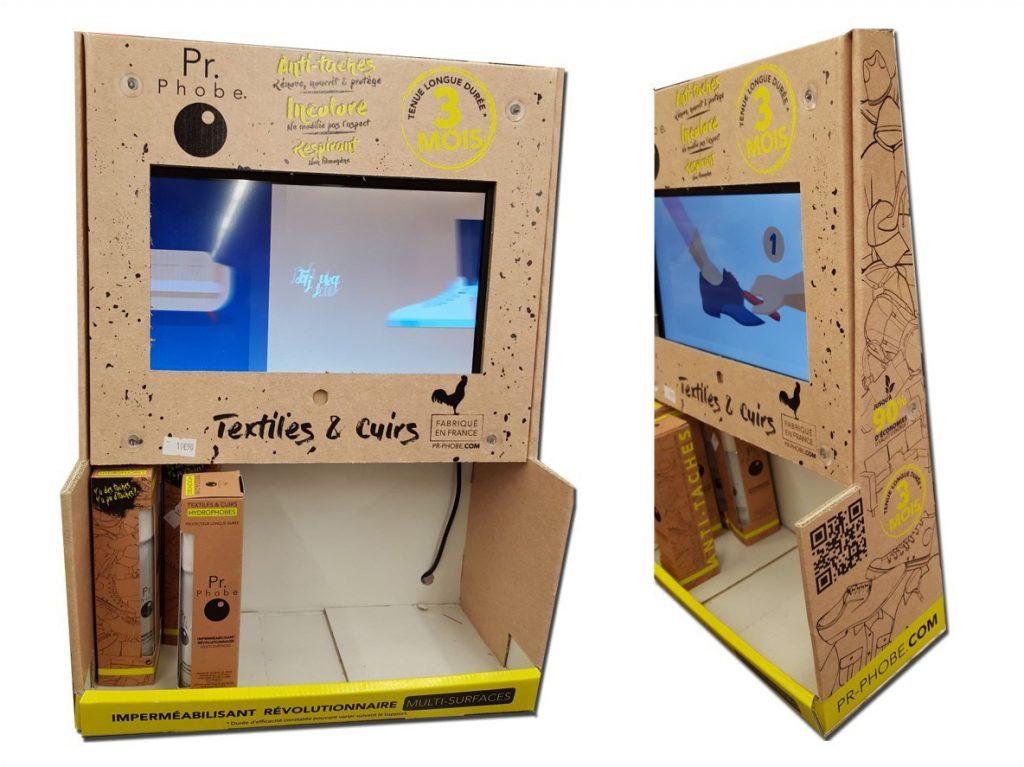 PLV / Totem écran vidéo