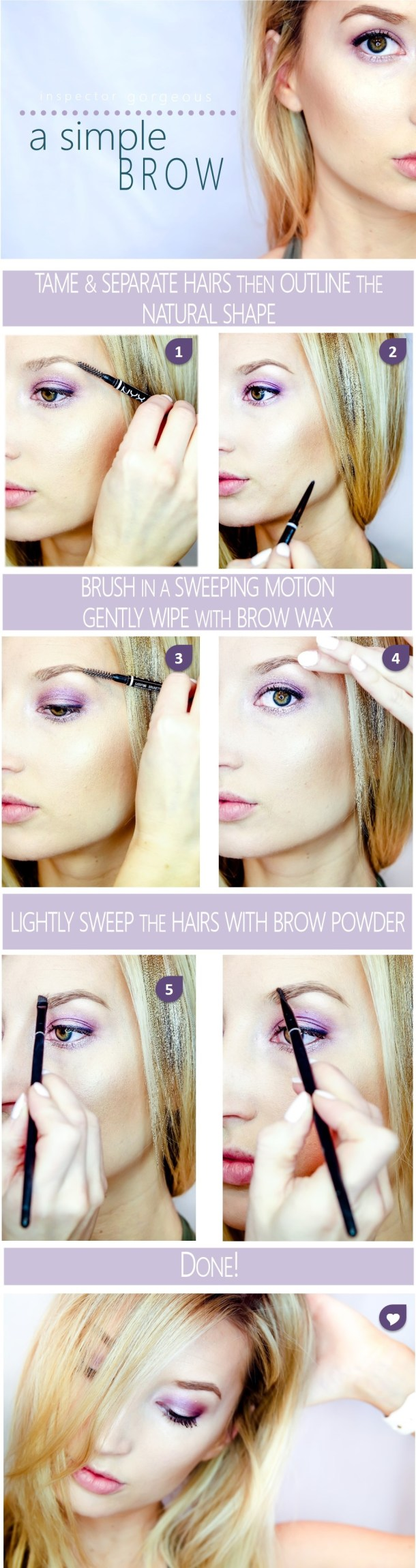 Simple Brow Tutorial