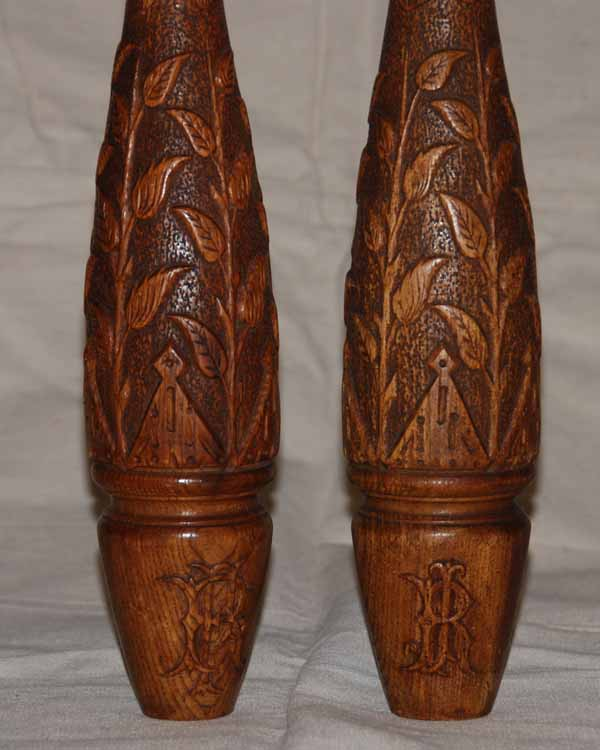 carved pair front