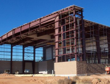 Cannon AFB MC130 Maintenance Hanger