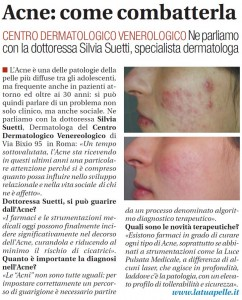 intervista acne suetti