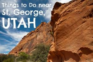 Things to Do Near St. George, UTAH