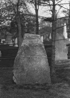 Louis Agassiz Monument, c. 1905, Glass-Plate Negative.