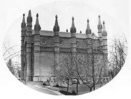 Bigelow Chapel, c. 1861. George Kendall Warren, Salted Paper Print.