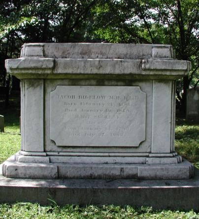 Jacob Bigelow grave