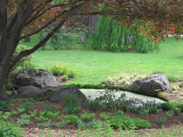 Alice's Fountain, Spring 2012