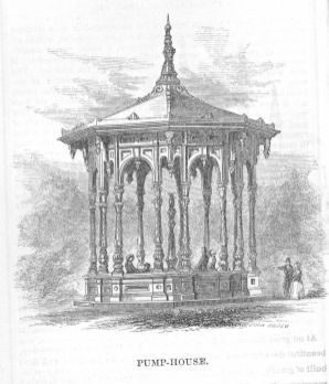 Well House, From Moses King guidebook, 1885