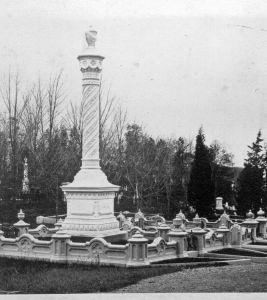 Ornate Curb ca 1870s (nonextant)