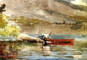 Winslow Homer, Red Canoe
