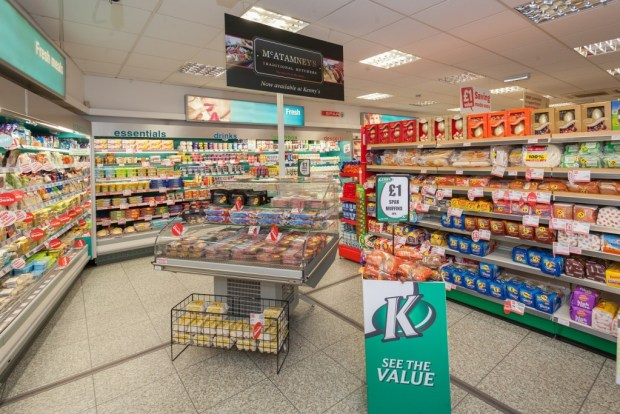 The new layout has helped create wider aisles and more space for shoppers
