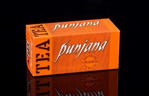 The Punjana original amber packaging