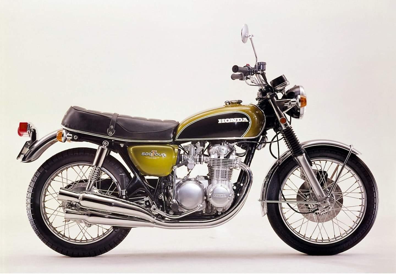 Honda CB 500 Four - der Topseller in der 500er Klasse