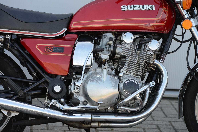Suzuki GS 850 G - Dickschiff mit Kardanantrieb