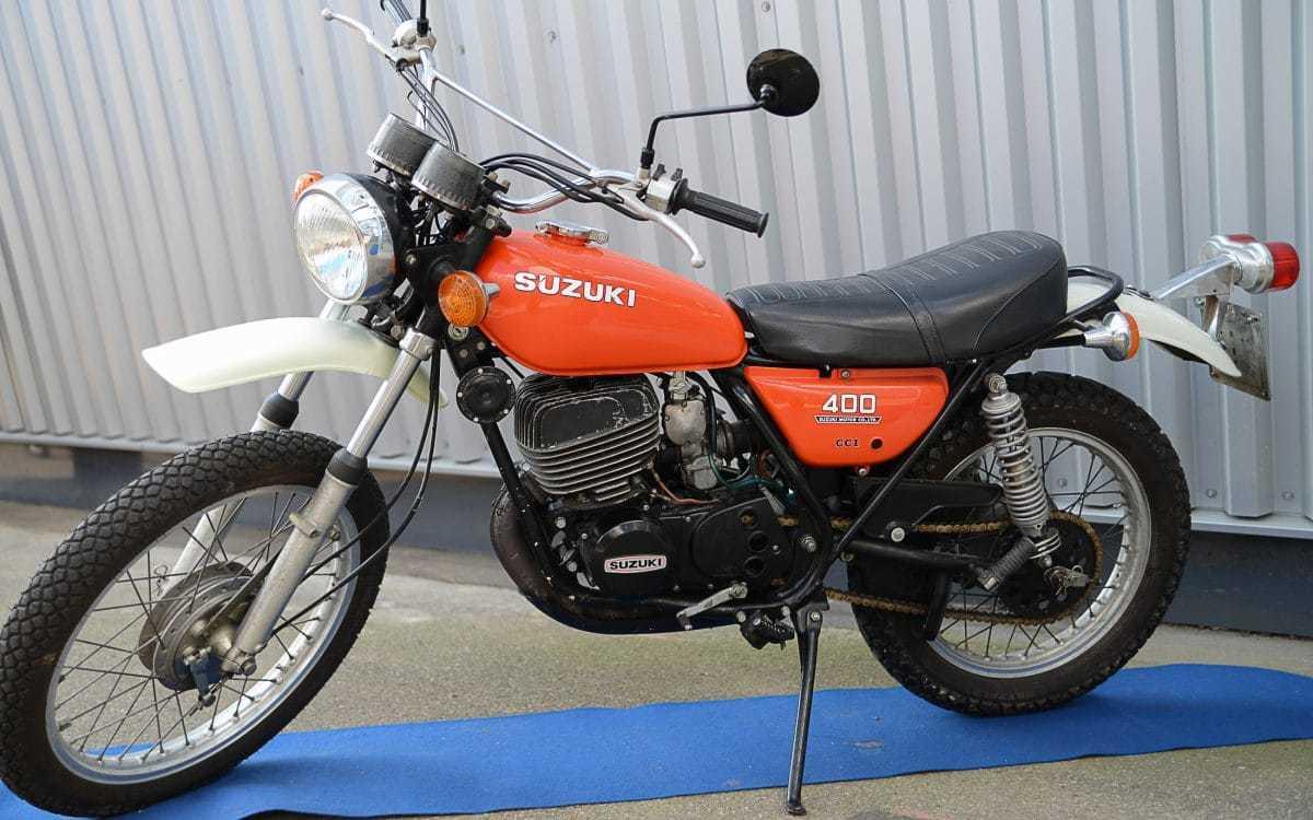 Suzuki TS 400 Apache - Häuptling der Zweitaktenduros