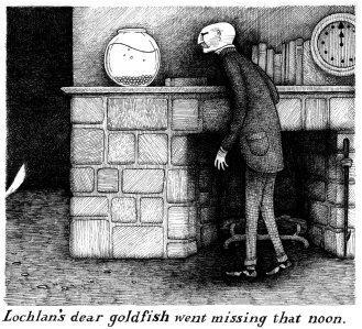 Edward Gorey, rysunek