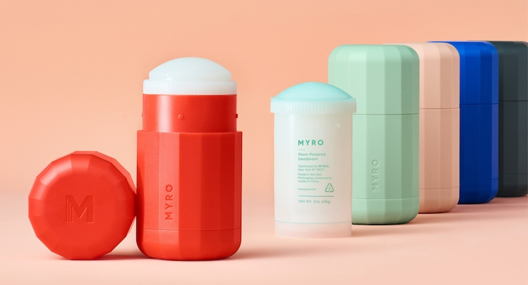 myro refillable deodorant launches at