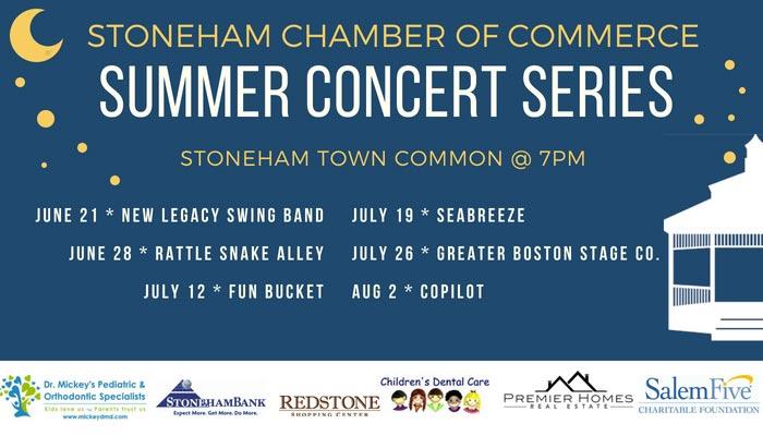 Stoneham Chamber 2018 Summer Concert Series