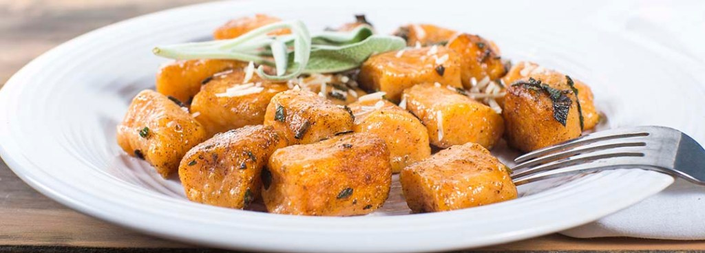 St. Supéry Sweet Potato Gnocchi with Brown Butter and Sage