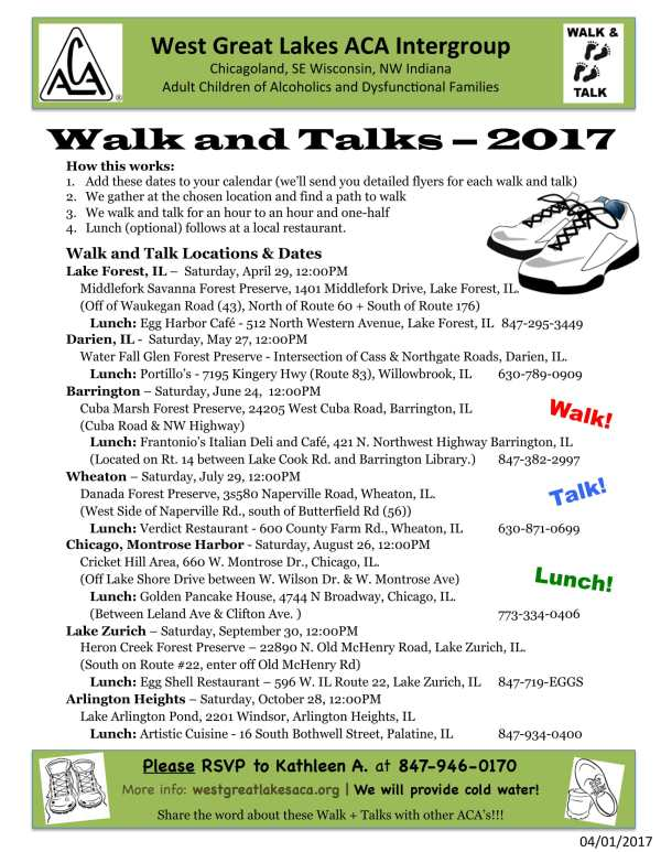 Image of 2017 ACA Walk and Talks