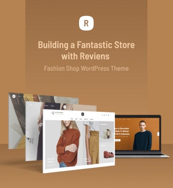 Reviens -  Fashion WooCommerce WordPress Theme