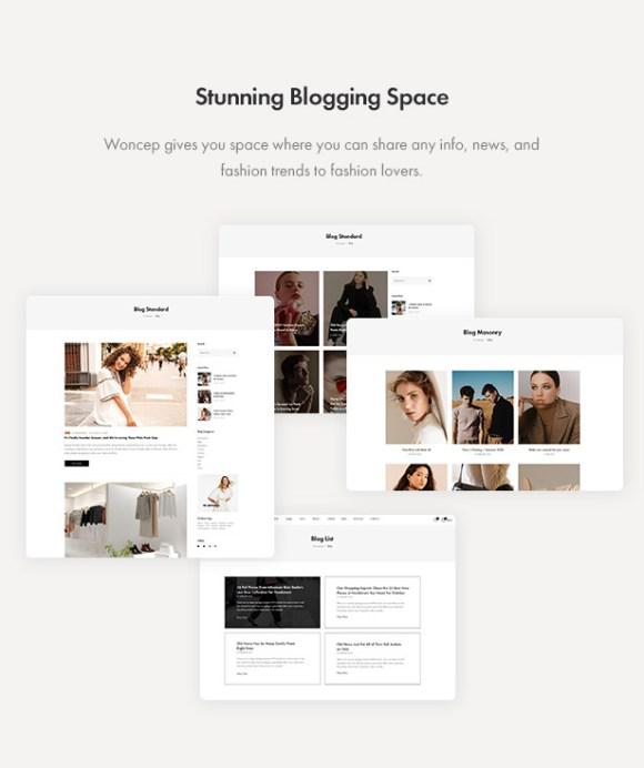 Woncep - Fashion WooCommerce WordPress Theme