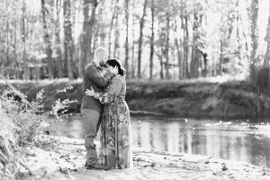 Engagement Session in the champlain valley