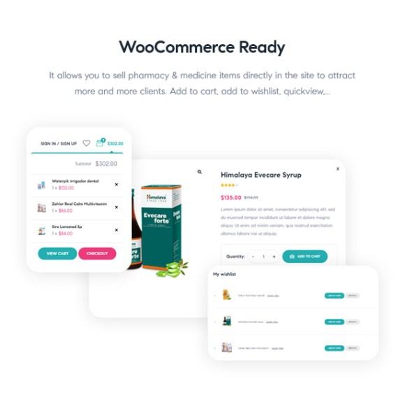 Medilazar Pharmacy WooCommerce WordPress Theme - Create, Manage Pharmacy Shop with WooCommerce