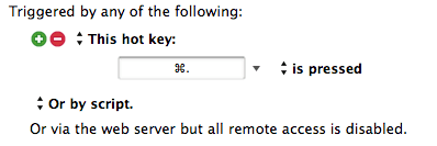 Bulk Automate URL Coordinates trigged by this key.