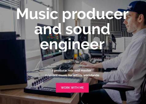 Music producer and sound engineer.