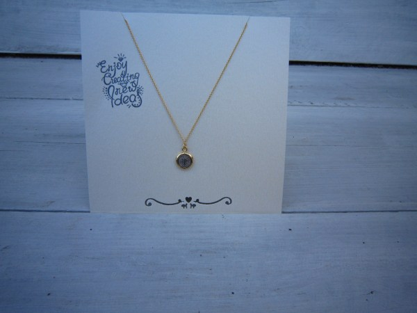 KETTING HOLY goud-zilver.