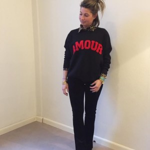 Amour Sweater Zwart One size