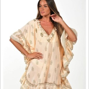 NJ Couture tuniek - ecru