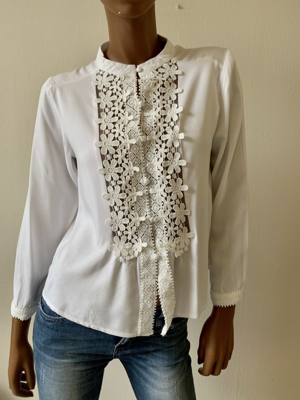 BLOUSE MADELIEF Wit.