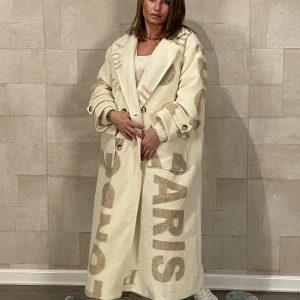 Guilia Lange mantel Jas - One size.