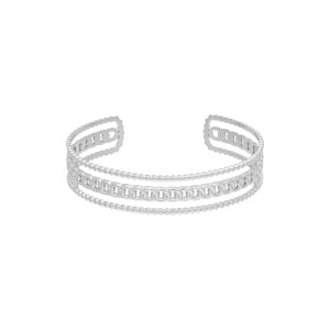 Armband Triple Chains Stainless steel - Zilver kleur.