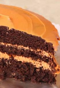 tarta de chocolate y naranja corte 2