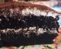 tarta chocolate guinness
