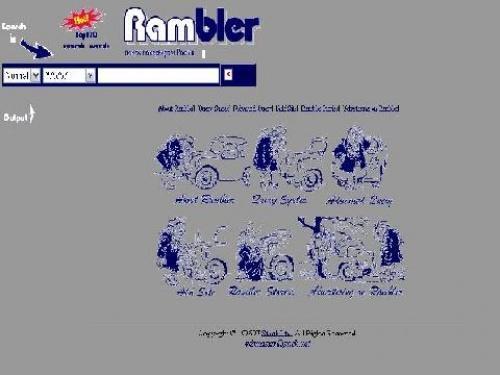 rambler 1996 year - Runet празднует юбилей - 20 лет домену .ru