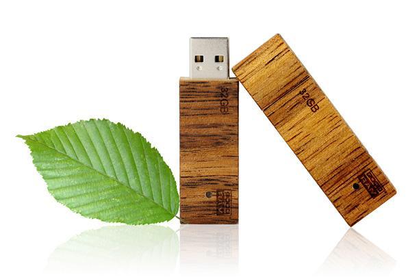goodram wooden usb flash - Деревянная USB-флешка GoodRam — уникальный стиль, отличный подарок