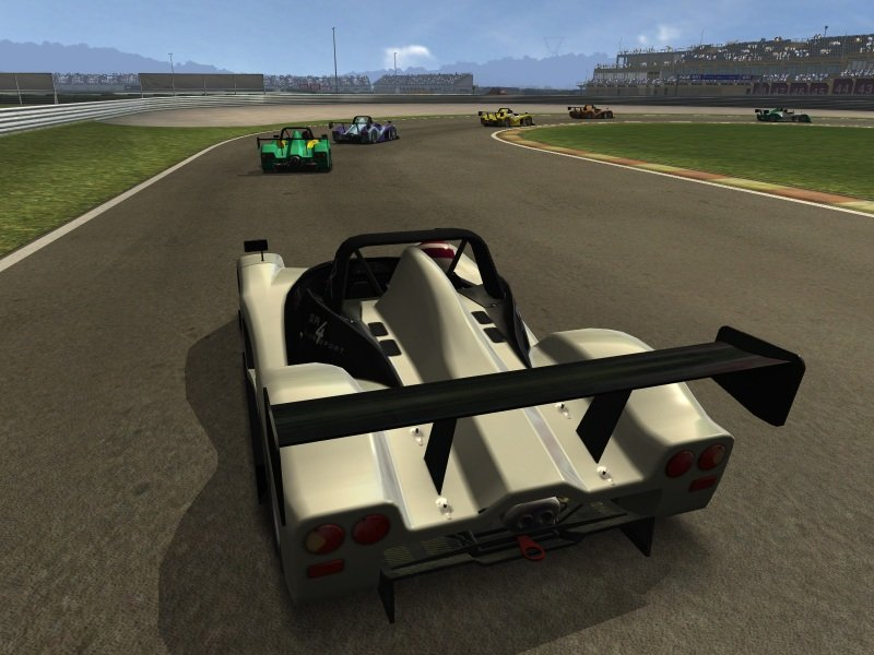 race wtcc 07 screen2 - RACE 07: Official WTCC Game