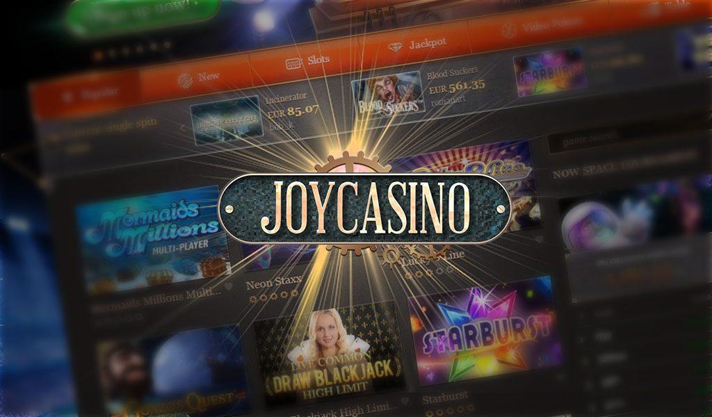 Joycasino — описание и основные преимущества «заблокированного» интернет  казино