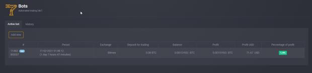 steroid bot test profit 620x146 - Steroid.one — обзор бота для торговли криптовалютами адаптированного для новичков