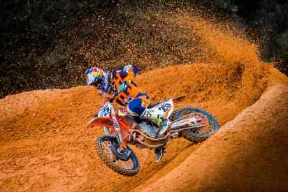 motocross action corner photography