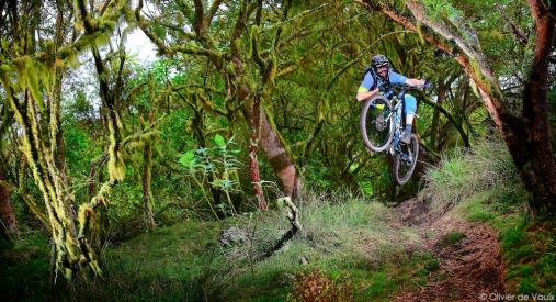 outdoor mtb trail photography