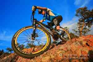 outdoor mtb wheel photography